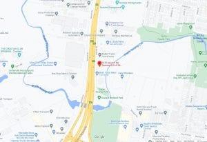 Osprey Scaffold Hire google map